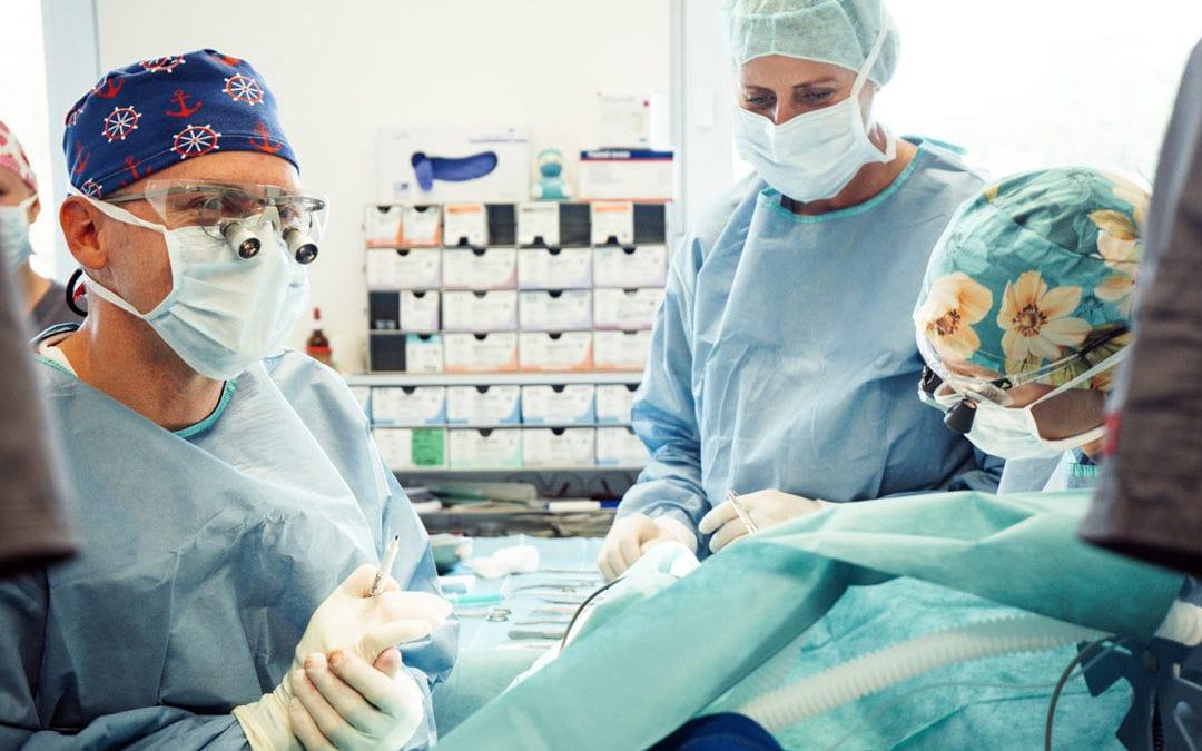 Viele Operationen bedeuten viel Erfahrung